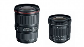 New Canon Wide-Angle Zoom Lenses: 16-35mm f/4L IS & 10-18mm f/4.5-5.6 IS STM