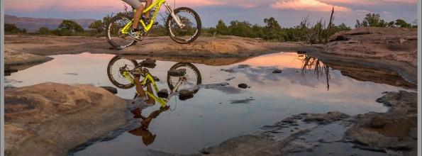 Reflecting On Little Creek Mesa