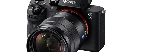 New Sony Alpha A7 II Full-Frame Mirrorless Camera