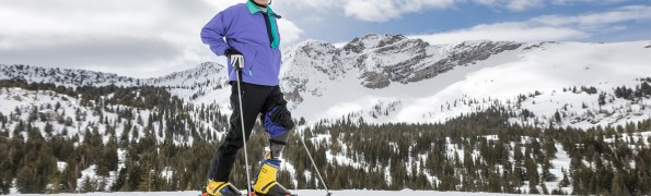 Skiing Alta with Adaptive Skier Greg Hansen