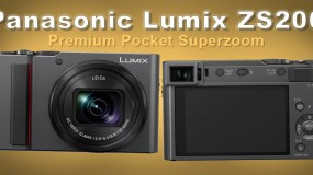 Panasonic Lumix ZS200 Premium Point-and-Shoot Camera