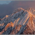 Ski and Snowboard Photos: Mt. Olympus Alpenglow