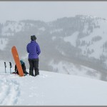 Ski and Snowboard Photos: Backcountry Meditation