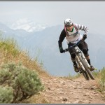 Mountain Bike Photos: Spring Drifting On Salt Lake City Singletrack