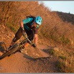 Mountain Bike Photos: Golden Hour Berm Shot