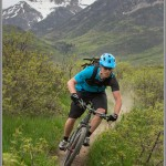 Mountain Bike Photos: Spring Singletrack Below Mt. Timpanogos