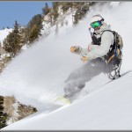 Ski and Snowboard Photos: Splitboard Roost In The Alta Backcountry