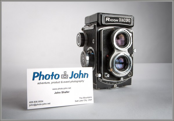 Welcome To Photo-John's New Web Site: Business Card & Camera