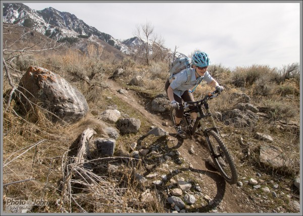 Mountain Bike Photos: Early Spring Singeltrack On The Wasatch Front
