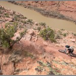 Mountain Bike Photos: Above The Colorado River - Moab, Utah
