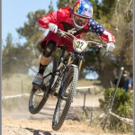 Mountain Bike Photos: 2013 Sea Otter Classic Downhill Winner, Aaron Gwin