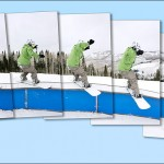 Ski and Snowboard Photos: Rail Sequence