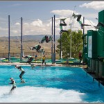 Ski and Snowboard Photos: Olympic Park Jump Pool