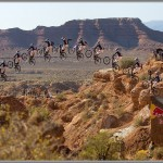 Mountain Bike Photos: Thomas Vanderham - 2008 Red Bull Rampage Canyon Gap Sequence
