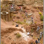 Mountain Bike Photos: Cam Zink - Oakley Sender 360 - 2010 Red Bull Rampage
