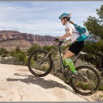 Mountain Bike Photos: Green Socks On Slickrock