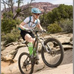 Mountain Bike Photos: Attacking A Steep Section Of Guacamole Trail