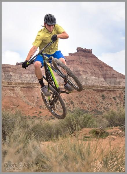 Mountain Bike Photos: Anti-Gravity On Jem Trail