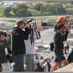Photographers On the Dual Slalom Course - 2005 Sea Otter Classic