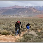 Mountain Bike Photos: Jem Trail With Virgin, Utah In the Background