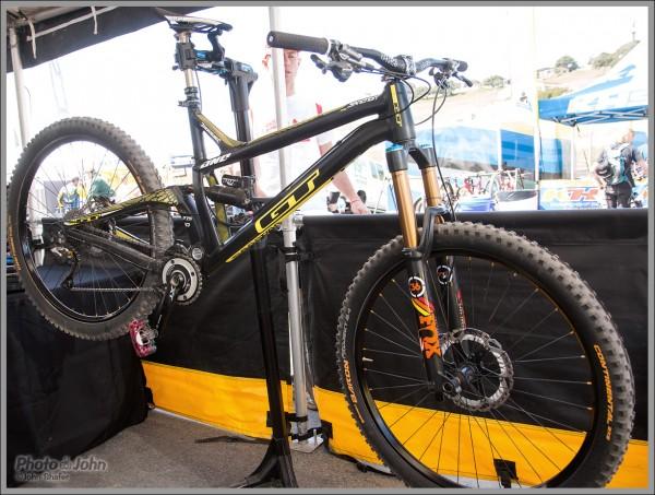 New GT Sanction Enduro Bike - 2014 Sea Otter Classic