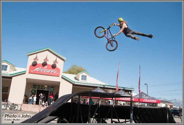 Big Air At the Fezzari Bike Spring Sale Event