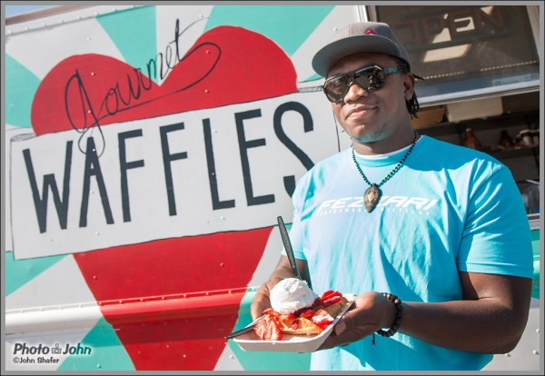 Ziggy Ansah Loves Waffles!