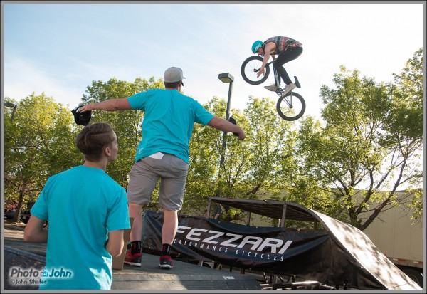BMX Tricks During Fezzari Bikes Raffle