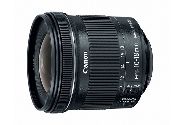 Canon EF-S 10-18mm f/4.5-5.6 IS STM Wide-Angle Zoom Lens