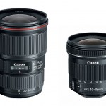 New Canon 16-35mm f/4L IS & 10-18mm f/4.5-5.6 IS STM Wide-Angle Zoom Lenses