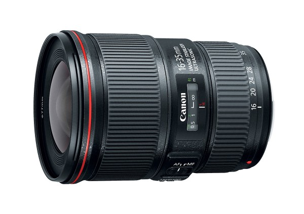 Canon 16-35mm f/4L IS Wide-Angle Zoom Lens