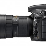Nikon D810 - Left Side View