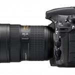 Nikon D810 - Left Side View