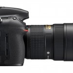 Nikon D810 - Right Side View