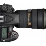 Nikon D810 DSLR - Top View