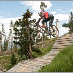 Francois Bailly-Maitre - Trestle Downhill Start at the Colorado Enduro World Series