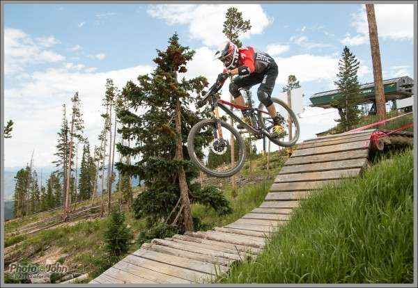 Trestle Downhill Start at the Colorado Enduro World Series
