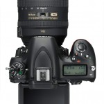 Nikon D750 - Top View With Tilting LCD