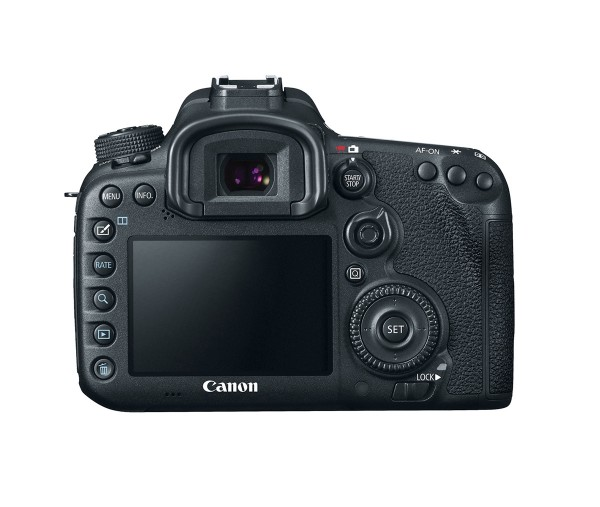 Canon EOS 7D Mark II - Rear View