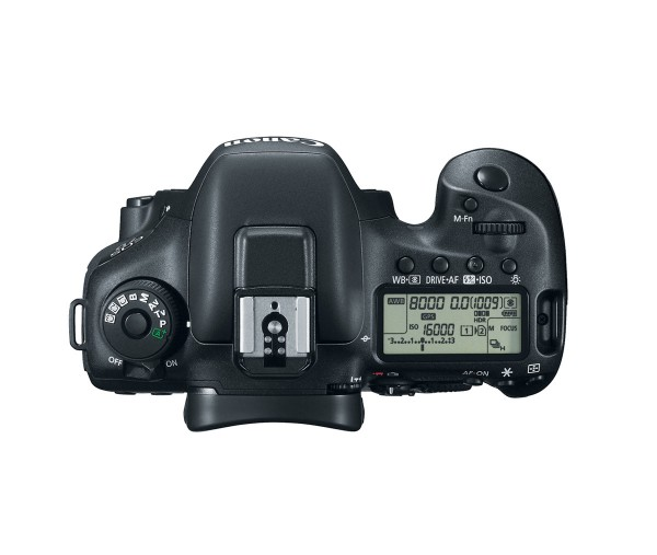 Canon EOS 7D Mark II - Top View