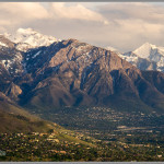 Mt. Olympus & Salt Lake City In the Spring