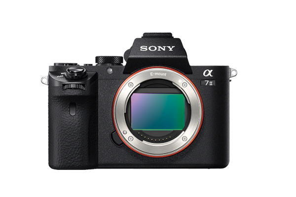 New Sony A7 II - 24-MP CMOS Sensor