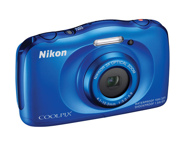 Nikon Coolpix S33 Rugged Waterproof Point-and-Shoot Camera