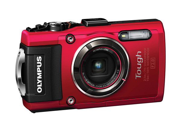 Olympus Tough TG-4 Rugged Waterproof Point-and-Shoot Camera