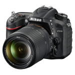 Nikon D7200 Digital SLR - Left Front