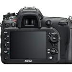 Nikon D7200 DSLR - Rear View