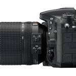 Nikon D7200 DSLR - Left Side