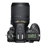 Nikon D7200 DSLR - Top View