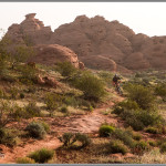 Church Rocks - Fine Art Mountain Bike Photography