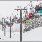 Alta's Wildcat Lift On Closing Day 2015